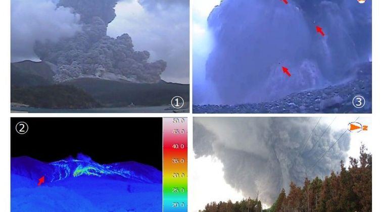 【鹿児島】口永良部島の新岳が爆発的噴火…噴煙2000メートルまで上がる