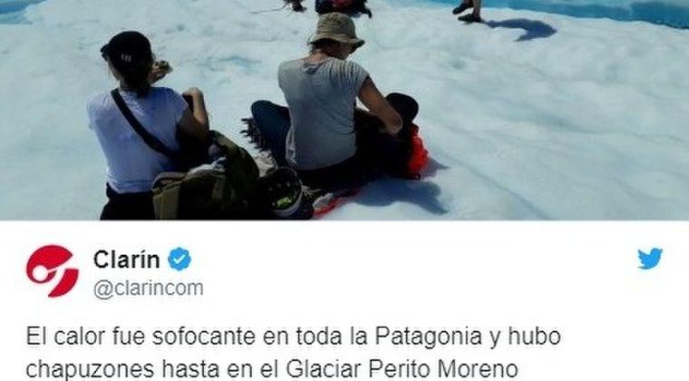 【異常事態】南アメリカ大陸の「氷河地帯」で外気温「35.6℃」を記録…2月も異常気象が止まらない