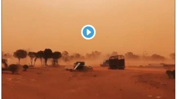 【ダストストーム】オーストラリアで500kmにも及ぶ「巨大な砂嵐」が発生