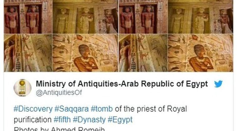 【エジプト】4400年前の墓を発見…完全な保存状態に「過去数十年来例を見ない」ほど