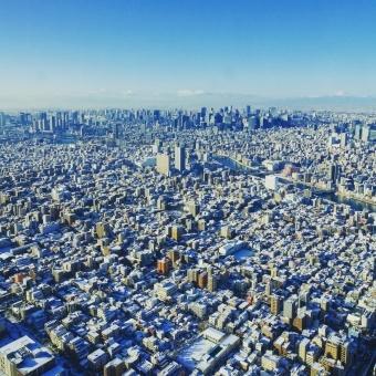 【東京】雪も降り出し、前日との気温差はなんと「19℃」気温差による体調不良に注意