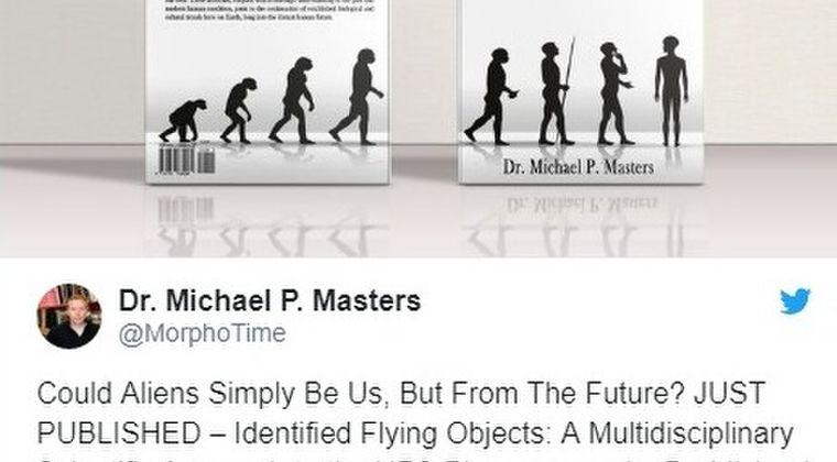 【未来人】アメリカ・モンタナ工科大学教授「UFOは未来から来たタイムマシンの可能性が高い」