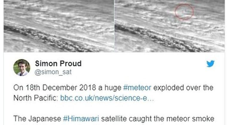 【ロシア】去年の12月頃にカムチャツカ沖上空で「隕石」が大爆発していたが誰も気がつかず…規模は広島原爆の約10倍だった模様