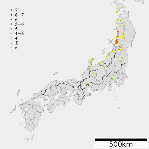 【新潟・山形】この変動帯近くで過去に「M7.7とM7.5の大地震」が起きている…数日間は警戒すべき「未知の断層」の可能性もあり