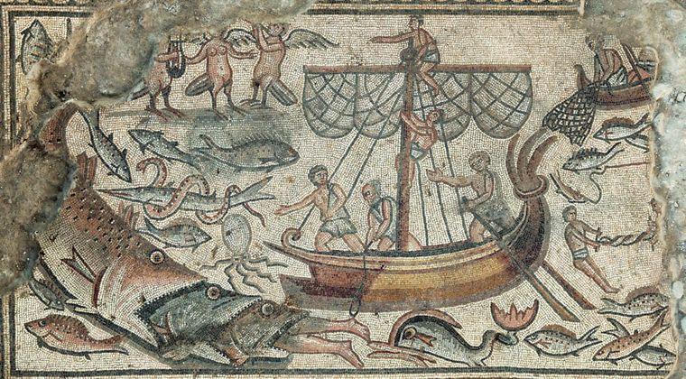 【古代イスラエル】モザイク画に描かれている「謎の鳥人類」とユダヤ教の秘密