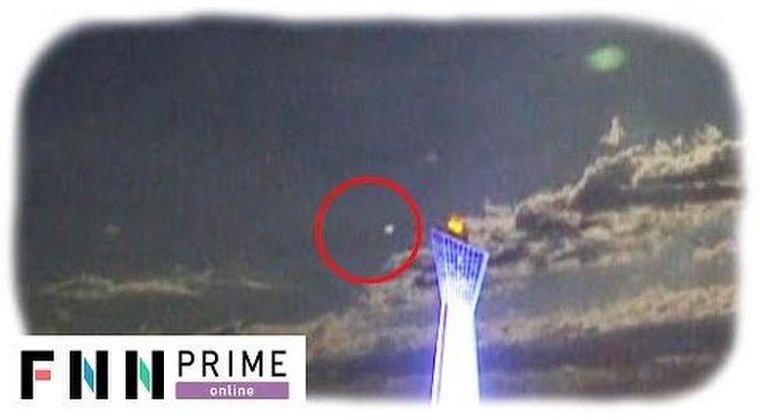【UFO】福島県の上空で「謎の光る物体」が出現し、超高速移動…正体は一体、何なのか?