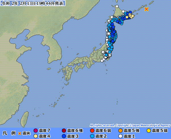 【M7.0】北海道で2日続けて地震があったけど、最近マジで地震が多すぎる