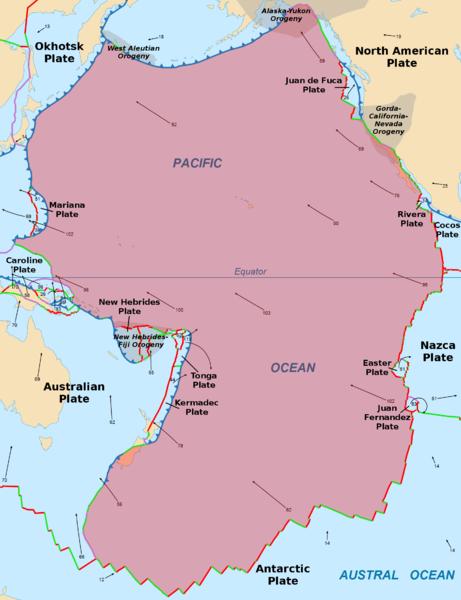 太平洋プレートが大暴れ中!専門家「3つの巨大地震が近づいている」と懸念