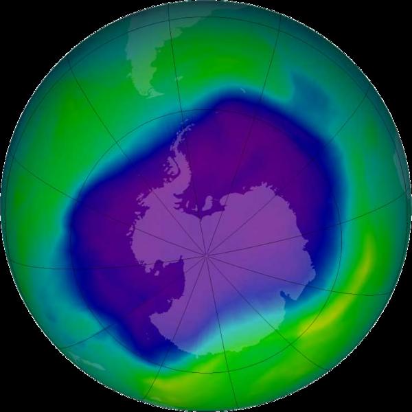 北極にできた過去最大の「オゾンホール」が消滅