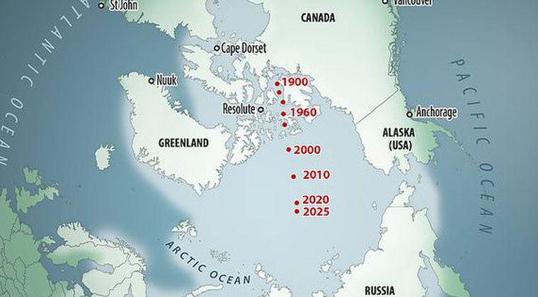 【ポールシフト】北磁極が異常な速度で移動中!地磁気が弱まれば、宇宙線が降り注ぎ人類滅亡へ
