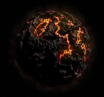 【地球中心部】地球のコアは自転より微妙に速く回転しています。冷戦時代の核実験データから判明
