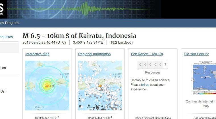 インドネシアのマルク諸島で「M6.5」の地震発生…20人が犠牲に