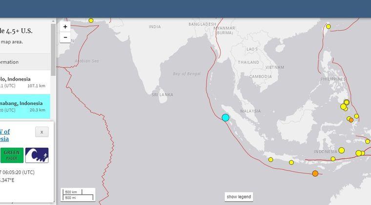 インドネシアで「M6.2」の地震発生…ニュージーランドの海岸には多数の「クジラ」が打ち上げられる!