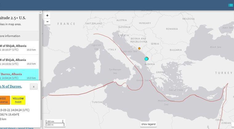 【ヨーロッパ】アルバニアで「M5.6」の地震発生…停電が起き、建物も損傷「30人」がケガ