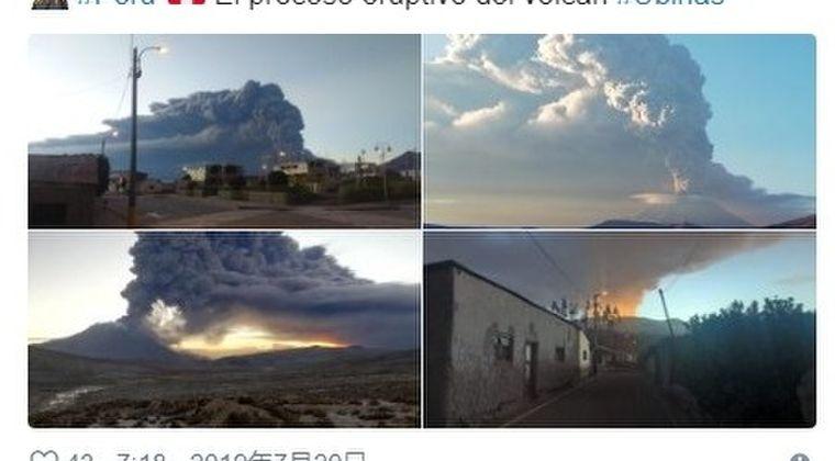 【非常事態宣言】ペルーのウビナス火山が爆発し噴火…爆発は「1677年以来」で今後も活発化する模様