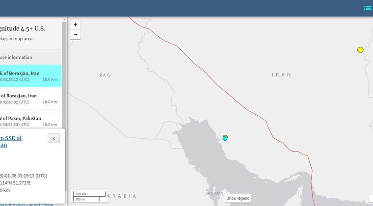 【人工地震】イランで「M4.9」と「M4.5」の地震発生…偶然か?原子力発電所近くの地域で起きてしまう