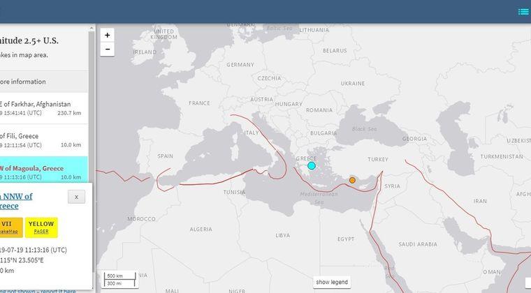 【ヨーロッパ】ギリシャで「M5.3」の地震発生