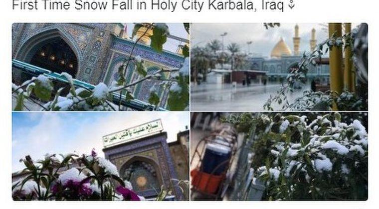 【珍しい】イラク・バグダットに「雪」が降る…過去100年で2回目