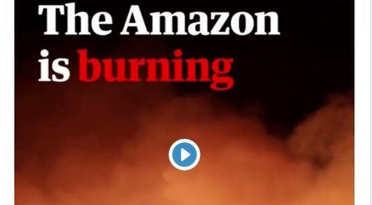 【ブラジル】アマゾンの熱帯雨林、記録的な速度で森林火災が発生…科学者「このままでは壊滅的な気候変動が起きる可能性がある」と警告