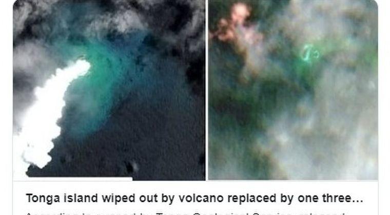 【トンガ】海底火山の噴火により、新たな島が出現!「M6.6」の揺れも観測、地震や火山が活発