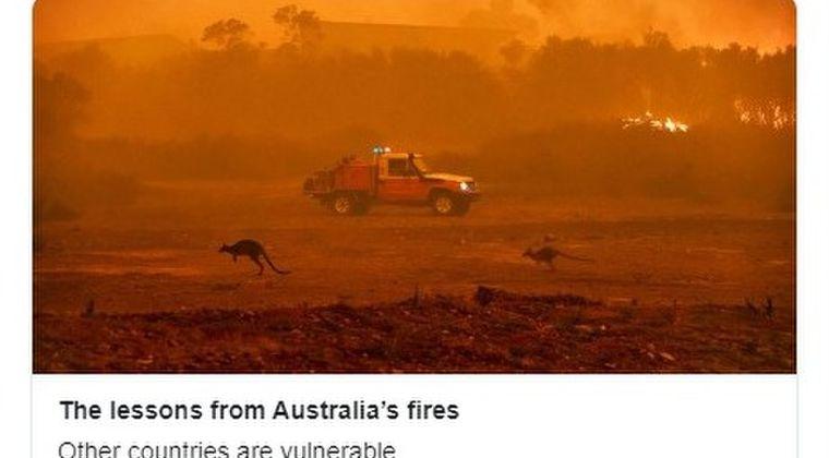 【非常事態】オーストラリアで起きている大規模火災…既に2019年アマゾンでの火災の2倍の広がり