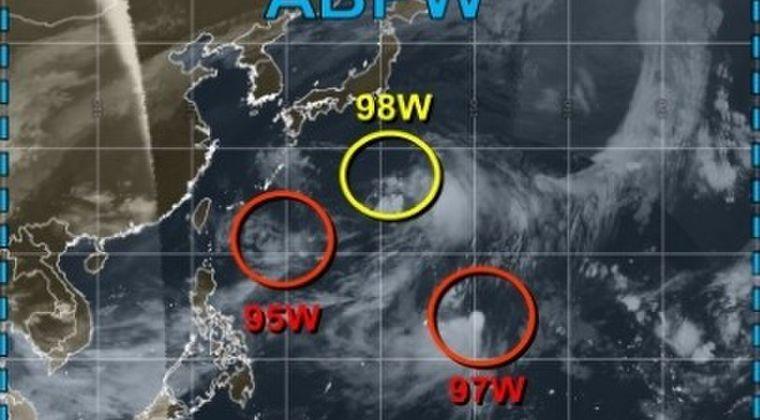 【大雨洪水】今日15日の夜頃には「熱帯低気圧」が関東へ接近…台風16号「ペイパー」に発達か