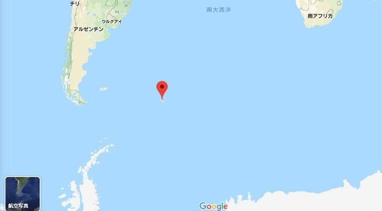 【大西洋】サウスサンドウィッチ諸島付近で「M5.4」の地震発生…8月28日にも「M6.6」の地震あり