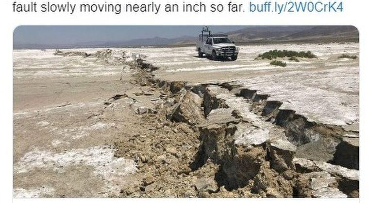 【アメリカ】M8クラスの大地震が発生する可能性がある断層が目覚める「観測史上初めて」