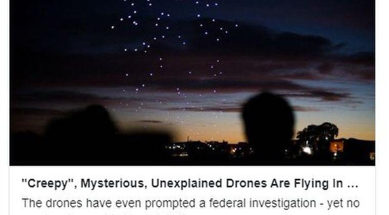 【FBIも捜査】アメリカ・コロラド州でUFO?「謎の巨大ドローン編隊」が1ヶ月近くも続けて目撃されている模様