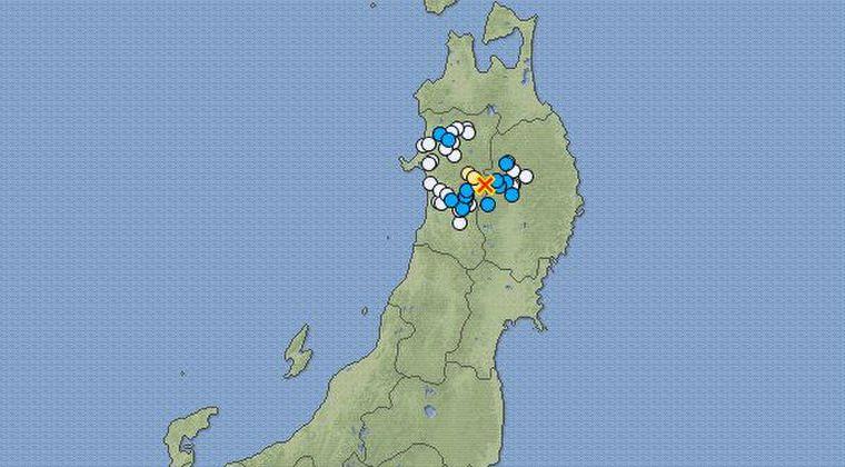 【3.11】秋田県で最大震度4の地震発生 M4.3 震源地は秋田県内陸南部 深さ約10km