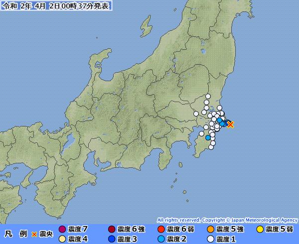 【千葉・茨城】関東地方で地震が相次ぐ…ここ数日で「震度3」の地震が3回も発生