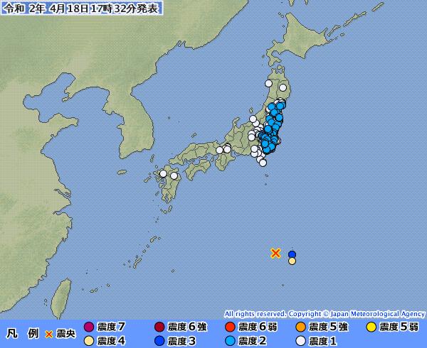 【異常震域】小笠原諸島西方沖でM6クラスの地震が相次ぐ…震源から離れている日本各地で揺れを観測