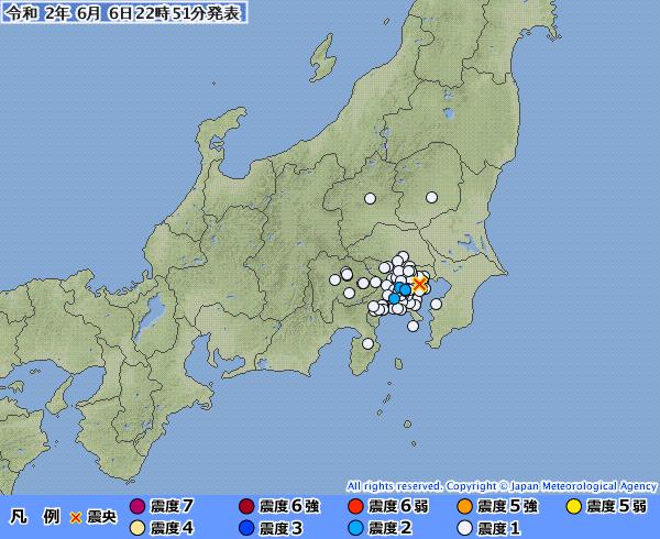 【首都直下】東京23区震源の地震が発生!神奈川県での異臭騒ぎと関係あるだろ、これ…