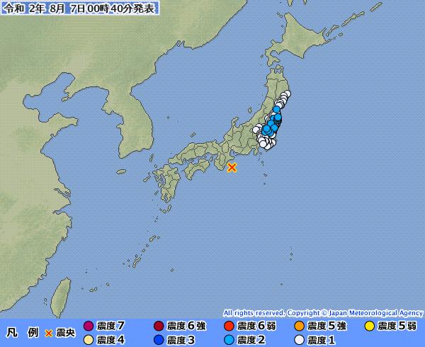 【異常震域】三重県南東沖が震源で関東・東北地方が揺れてしまう地震が発生