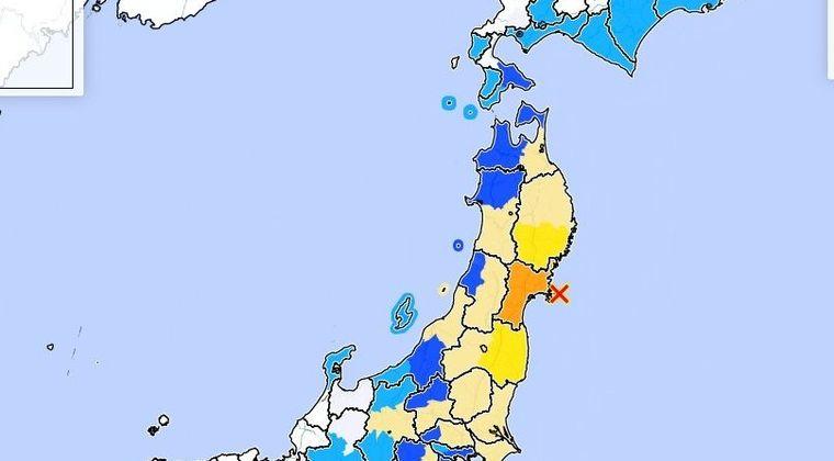 【大地震】昨日の地震の震源地って、ほぼ「女川原発」の真下で発生してた模様