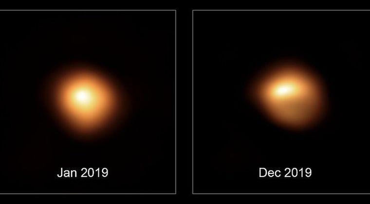 【ガンマ線バースト】ベテルギウスさん...まだ超新星爆発していなかった…減光していた原因は星表面の巨大な斑点が原因だった模様