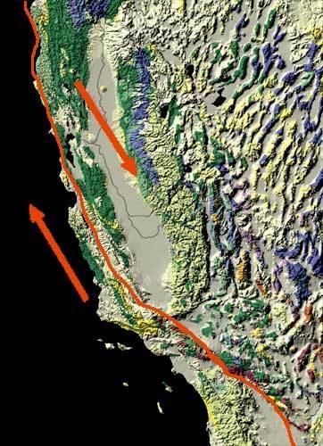 【引き金】サンアンドレアス断層、ドミノ効果で「巨大地震」の確率が1年以内に起きる確率が「3~5倍」高くなっている模様