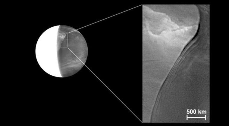 【謎】金星の雲の下に35年間気づかなかった「巨大な波動」を観測