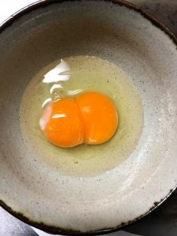 【九州】10個入りパックの卵、全てが「二黄卵」…縁起の良い「珍現象」が発生