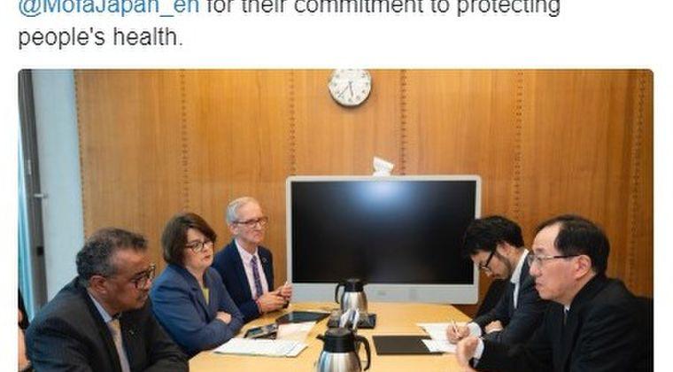 【口止め対策】WHO・テドロス事務局長「日本政府は10億円の寄付に続き、気前よく4600万ドル(46億円)をさらに寄付してくれた!感謝する!」