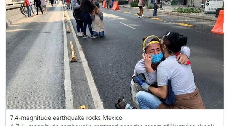 メキシコ南部で発生した「M7.4」の大地震で少なくとも4人が犠牲に…震度は日本の震度5弱から5強に相当
