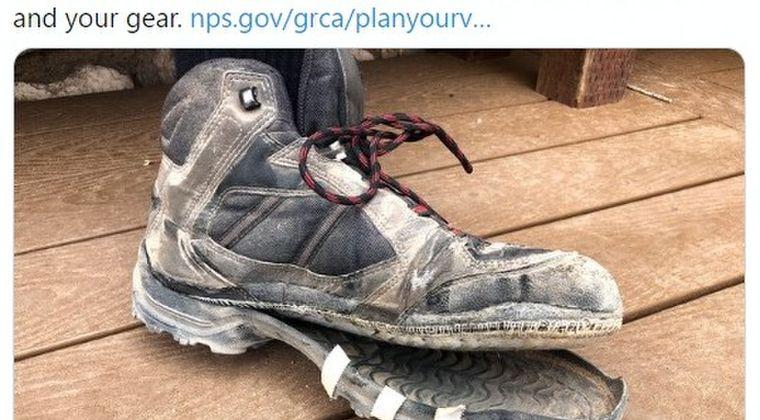 【猛暑】アメリカ・グランドキャニオンあまりの暑さに「靴の裏底が溶ける」までに…気温「44℃」に達する