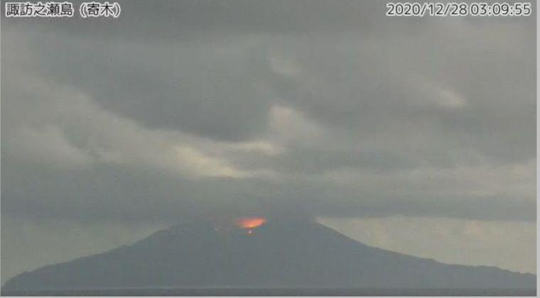 【トカラ列島】鹿児島の諏訪之瀬島で火山噴火…噴火警戒レベル3へ