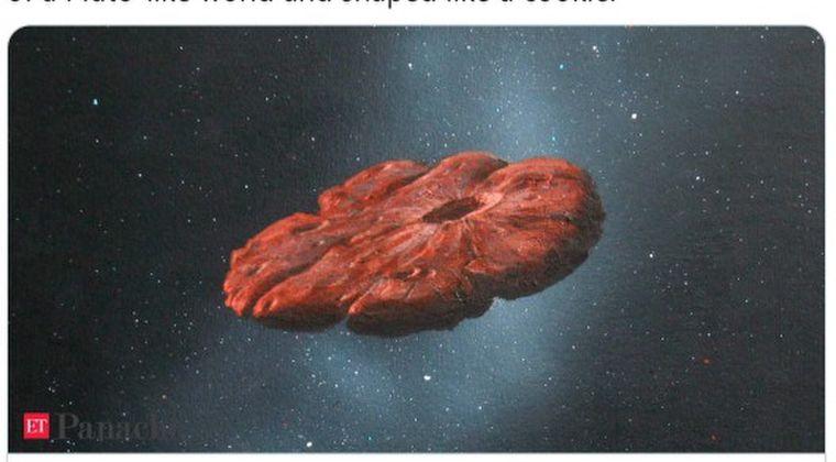 【UFO】小惑星オウムアムアの本当の姿が公開される…赤いクッキーみたいな円盤型だった模様