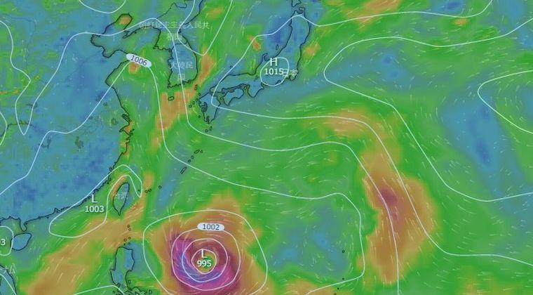 【メイサーク】台風9号「925hPa」の非常に強い勢力で沖縄本島接近か…今後は九州地方も注意が必要