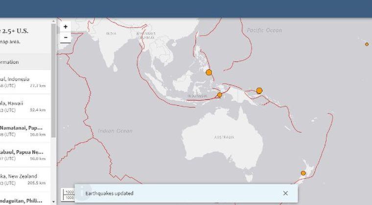 ニュージーランドで「M5.6」パプアニューギニアで「M5.4」フィリピンで「M5.1」の地震が発生