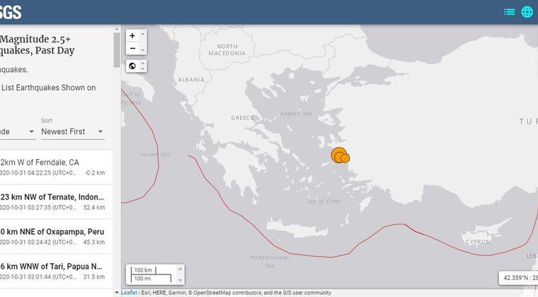 【地中海】トルコ西部沖で「M7.0」の地震…津波発生、一部で浸水も