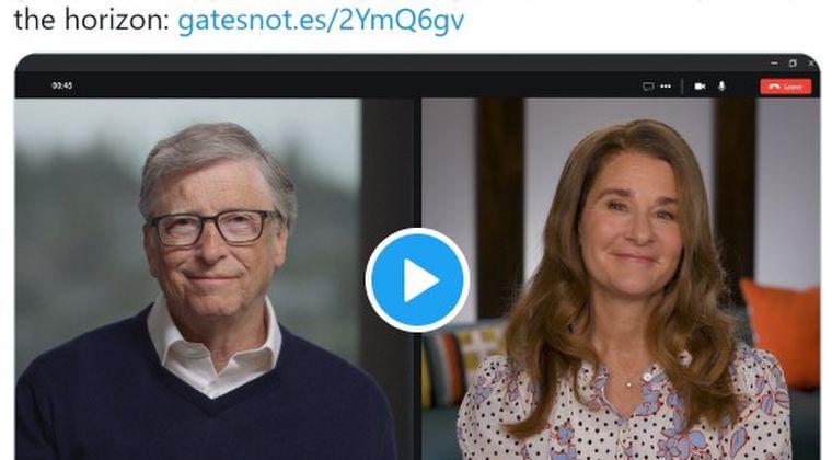 ビル・ゲイツ夫妻、新型コロナのパンデミックによる今後の世界の変化について語る…世界全ての人にワクチンを