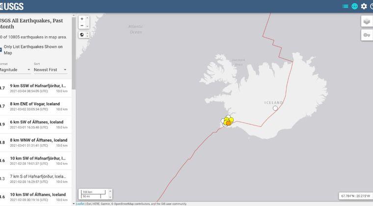 【マグマ】アイスランドで1週間で地震が「1.7万回」も発生中!火山噴火の前触れか