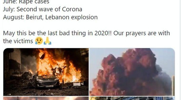 【衝撃動画】レバノン首都ベイルートで「2度の大爆発」が起こる!数千人以上が負傷…原因は押収されていた爆発物か